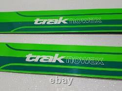 Trak Bushwacker Waxless 150cm Skis Cross Country with Voile 3-Pin Bindings