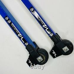 V2 Roller Skis Skates CrossX Cross Country Skate & Classic with Salomon SNS Profil
