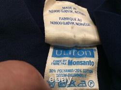 VINTAGE Men's 1970's Norheim Cross Country Racing Ski Suit Sz 50 Ultron Monsanto