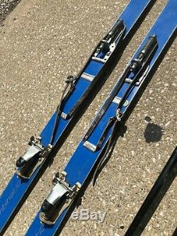 VTG 77 HART Camaro Blue Combination Cross Country Downhill Snow Ski with Poles