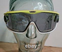 Vintage 1980's Alpina Cross Country Sunglasses Goggle ski skiing Racer S
