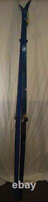 Vintage Epoke Ellesmere Cross Country Skis 205 cm Carbon Trak Binding
