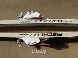 Vintage Fischer Touring Crown Base 800 cross country skis Rotofella bindings