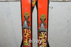 Vintage Gold-Star Ski Model Cross Country Skis Olympic XI 1972