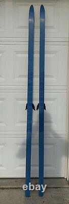 Vintage Karhu Cross Country Skis 210CM with 3-pin bindings