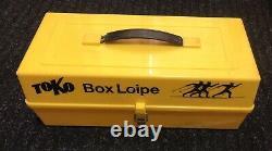Vintage Toko Box Loipe Cross Country Ski Wax Hand Paste Klister Grundvalla