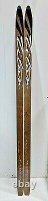 White Woods Titan Cross Country BC Skis, Back Country Metal Edge & Fish Scales