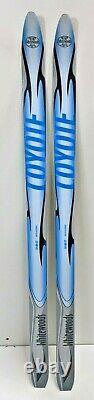 Whitewoods Junior Kids Cross Country Skis, fish scales, NNN bindings