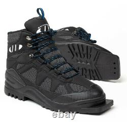 Whitewoods Model 301 75mm Cross Country Ski Boots Black, Gray (NEW) Lists@ $89