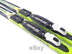 Youth Waxless Skis Cross Country Nordic Rottefella NNN Bindings